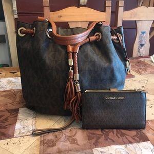 Michael Kors Handbag with Wallet